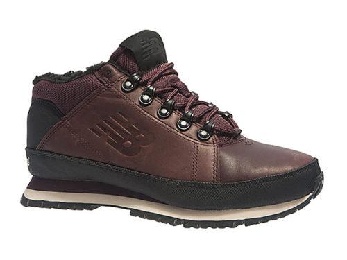 New Balance 754 с мехом кожаные темно-коричневые (40-45)