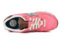 New Balance 574 замша-текстиль розовые с коричневым (35-40)