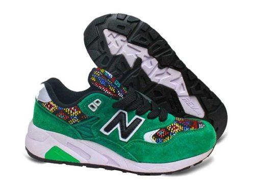 New Balance 580 замшевые зеленые (39-44)