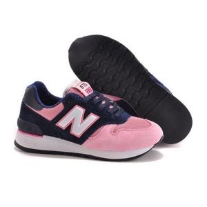 New Balance 670 замша-сетка розовый с синим(35-39)