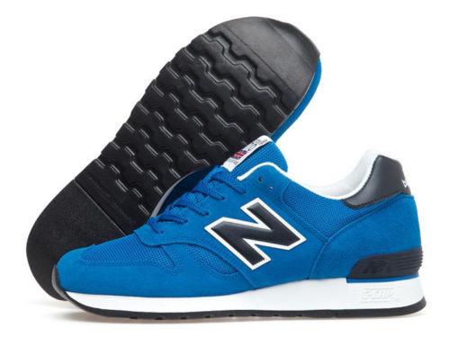 New Balance 670 замша-сетка синие с черным (35-45)