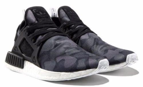 Adidas NMD XR1 черные камуфляж