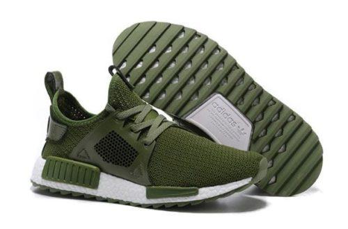 Adidas NMD XR1 зеленые