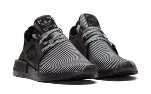 Adidas NMD XR1 Primeknit черные