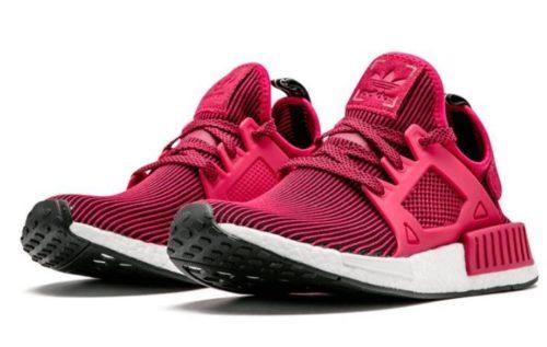 Adidas NMD XR1 Primeknit бордовые