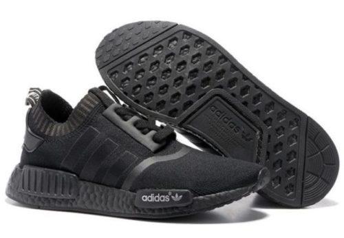 Adidas NMD R1 Primeknit черные