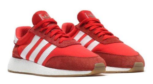 Adidas Iniki Runner красные