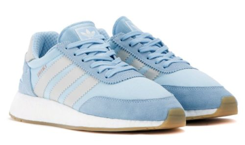 Adidas Iniki Runner голубые