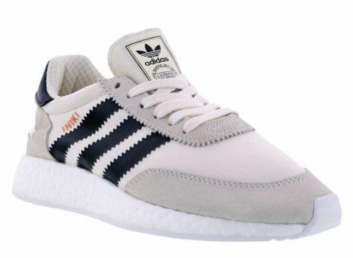 Adidas Iniki Runner белые с черным
