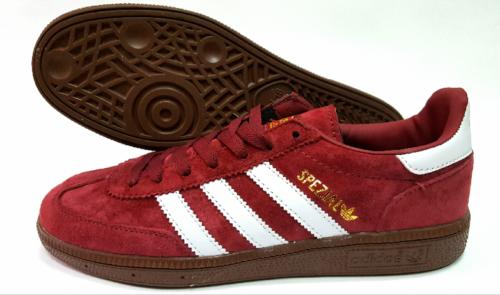 Adidas Spezial красные-бордовые мужские