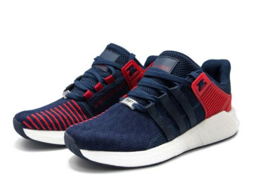 Кроссовки Adidas Equipment ADV синие с красным