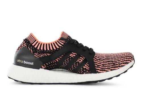 Adidas Ultra Boost X черные с розовым