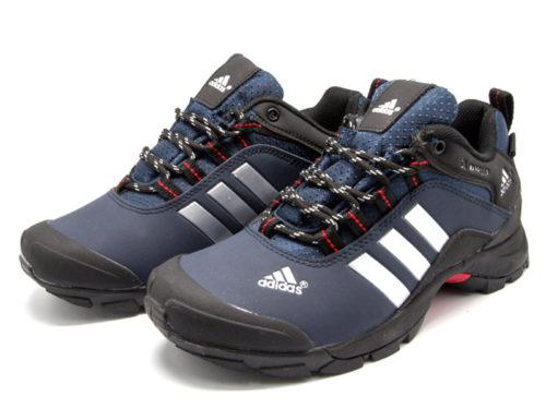 Adidas Terrex Climaproof синие с мехом
