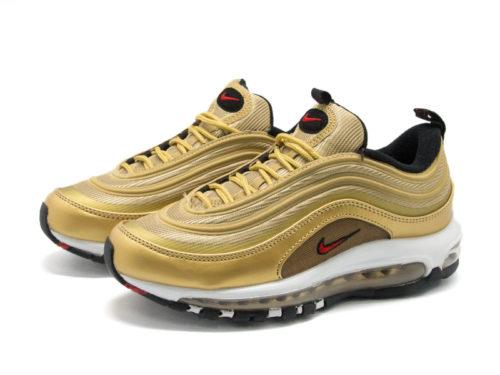 Кроссовки Nike Air Max 97 золотые-gold (40-45)