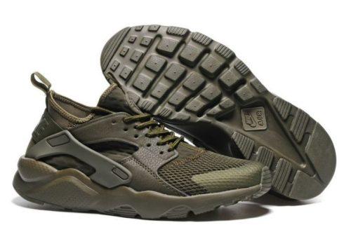 Nike Air Huarache Ultra зеленые мужские (40-44)