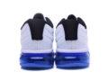 Nike Air Max 2017 белые с черным с синим (40-44)