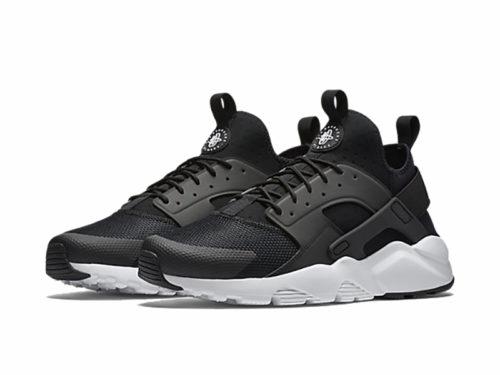 Nike Air Huarache Ultra черно-белые мужские (40-44)