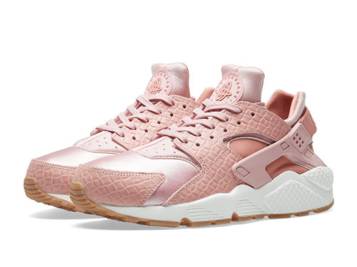 Nike Air Huarache Run Premium розовые pink женские (35-40)