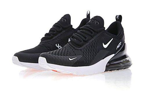 Nike Air Max 270 черные с белым (40-44)