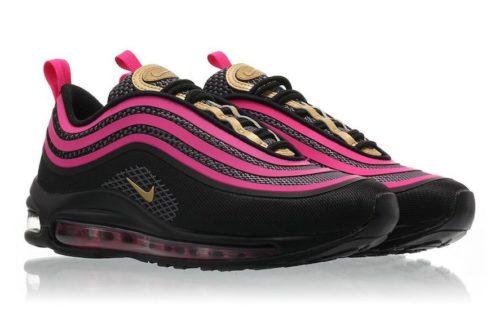 Nike Air Max 97 черные-фиолетовые (35-40)