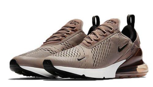 Nike Air Max 270 коричневые (35-39)