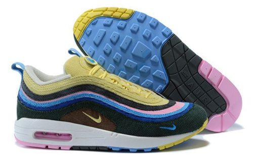 Nike Air Max 1/97 (Light Blue/Fury Lemon) (37-40)