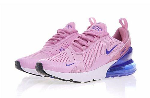 Nike Air Max 270 розовые с голубым (40-44)