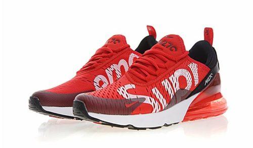 Nike Air Max 270 Supreme x красно-белые (40-44)