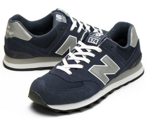New Balance 574 темно-синие мужские (40-44)