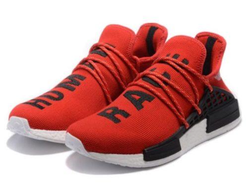 Adidas NMD Human Race красные с черным (40-44)