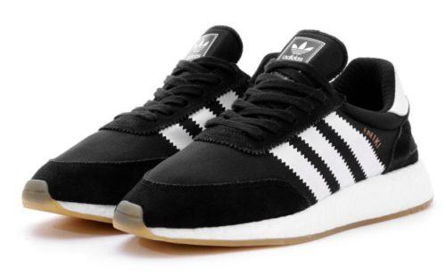 Adidas Iniki Runner черные с белым 40-44