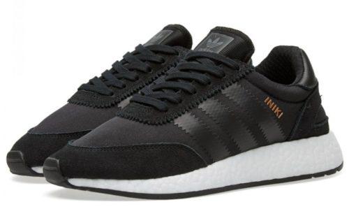Adidas Iniki Runner черные 40-44