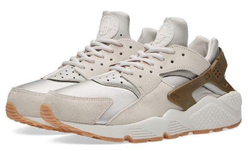 Nike Air Huarache Premium Suede Grey серые (36-40)