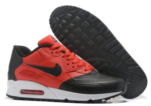 Nike Air Max 90 Premium черно-красные (40-44)