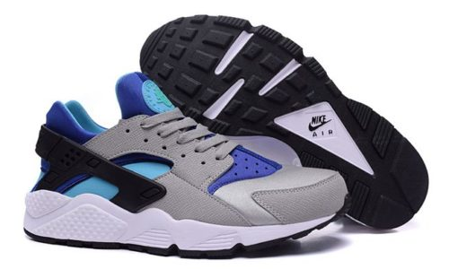 Nike Air Huarache Grey-Blue серые с синим (35-44)
