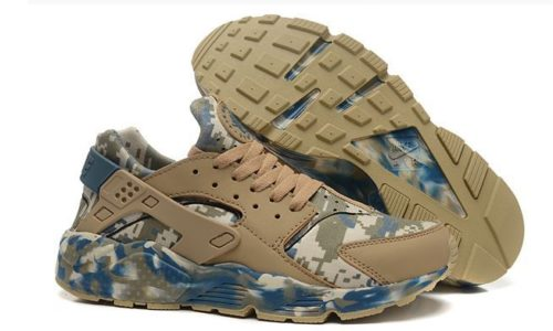 Nike Air Huarache камуфляж песочные (35-45)