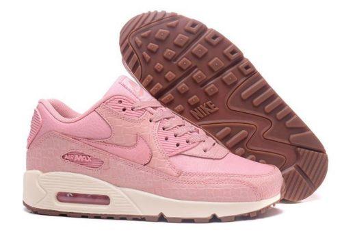 Nike Air Max 90 кожа розовые