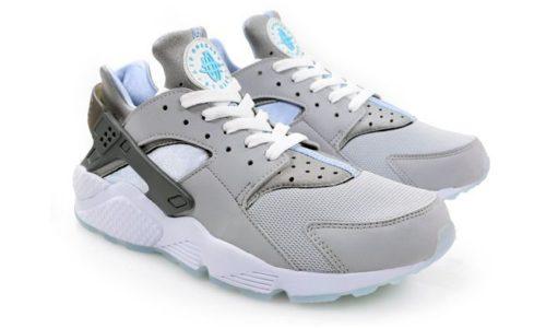 Nike Air Huarache Grey серые с белым (35-44)