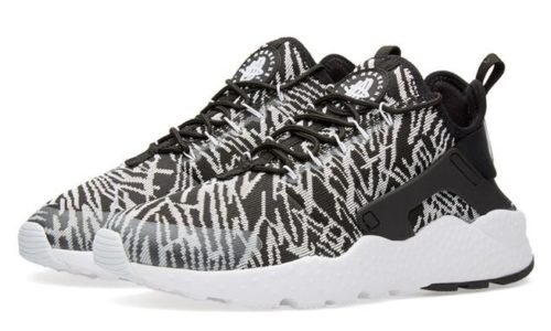 Nike Air Huarache Ultra Jacquard черно-белые (35-44)