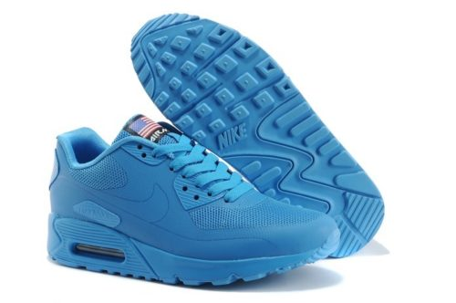 NIKE AIR MAX 90 HYPERFUSE светло-синие (35-39)
