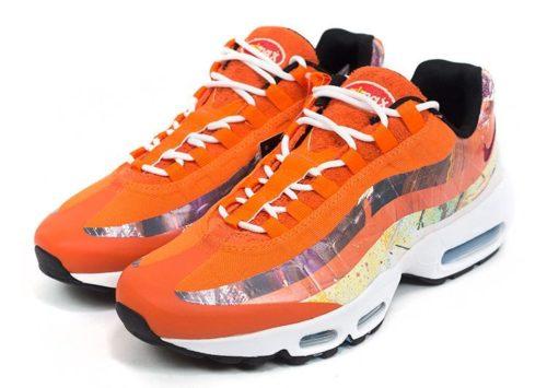 Nike Air Max 95 x Dave оранжевые (35-40)