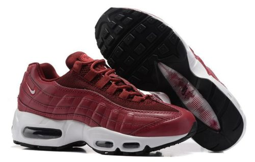 Nike Air Max 95 Essential красные (35-40)