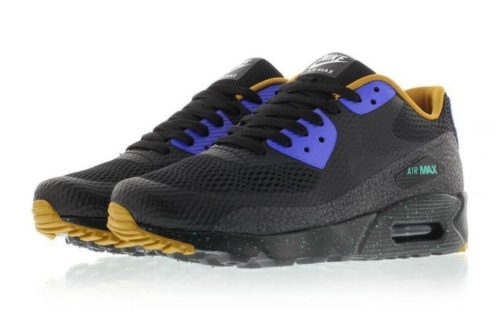 Nike Air Max 90 Ultra Essential черные с синим (40-44)