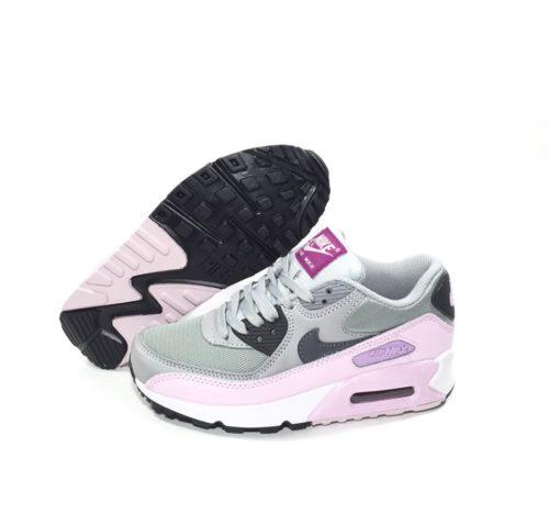 Nike Air Max 90 розовые с серым (35-39)