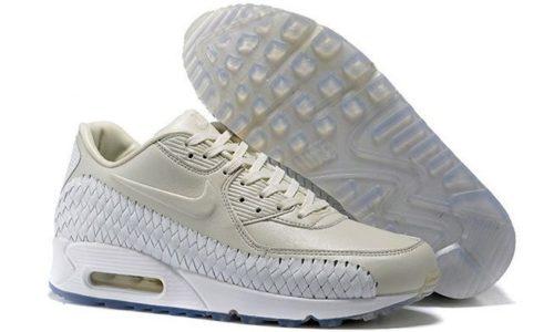 Nike Air Max 90 Woven бежевые (40-45)