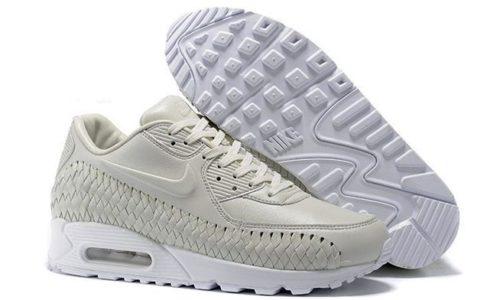 Nike Air Max 90 Woven белые (40-45)
