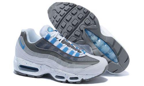 Nike Air Max 95 Серо-бело-голубые (40-45)