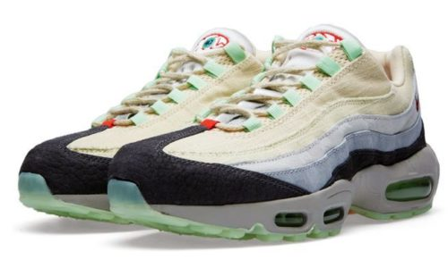 "Nike Air Max 95 ""QS Halloween"" белые с серым (36-40)"