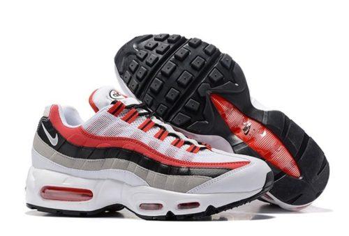 Nike Air Max 95 Essential белые красные (35-45)
