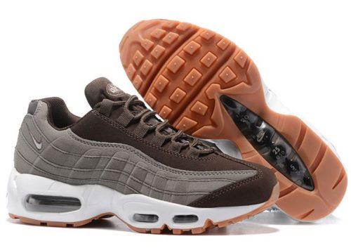 Nike Air Max 95 Essential серые/коричневые (35-40)